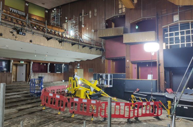 Main Stage auditorium redevelopment