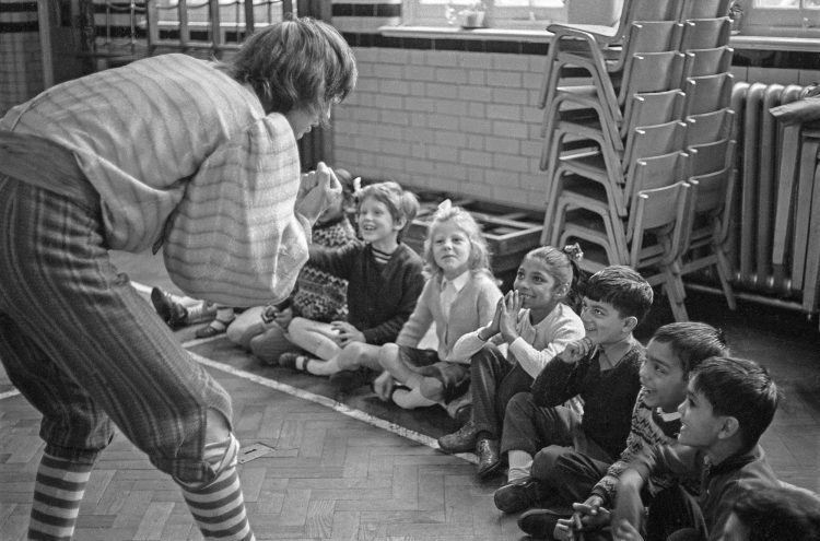 A Theatre in Education session in 1965