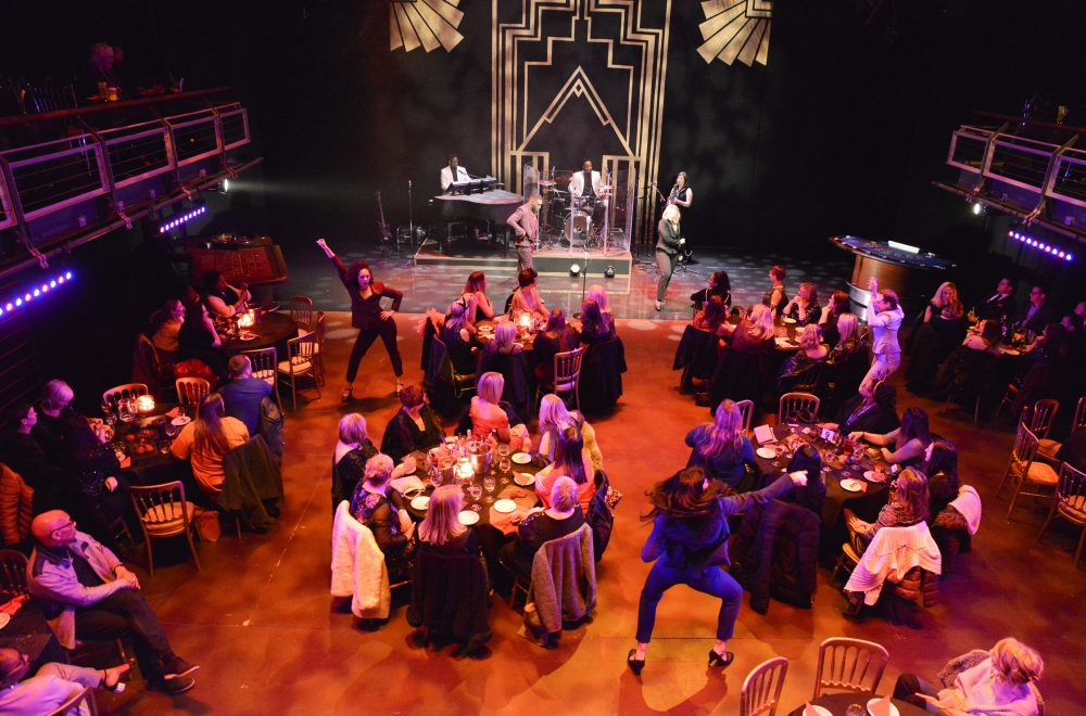 The immersive theatrical experience, Club 2B, in the B2 auditorium