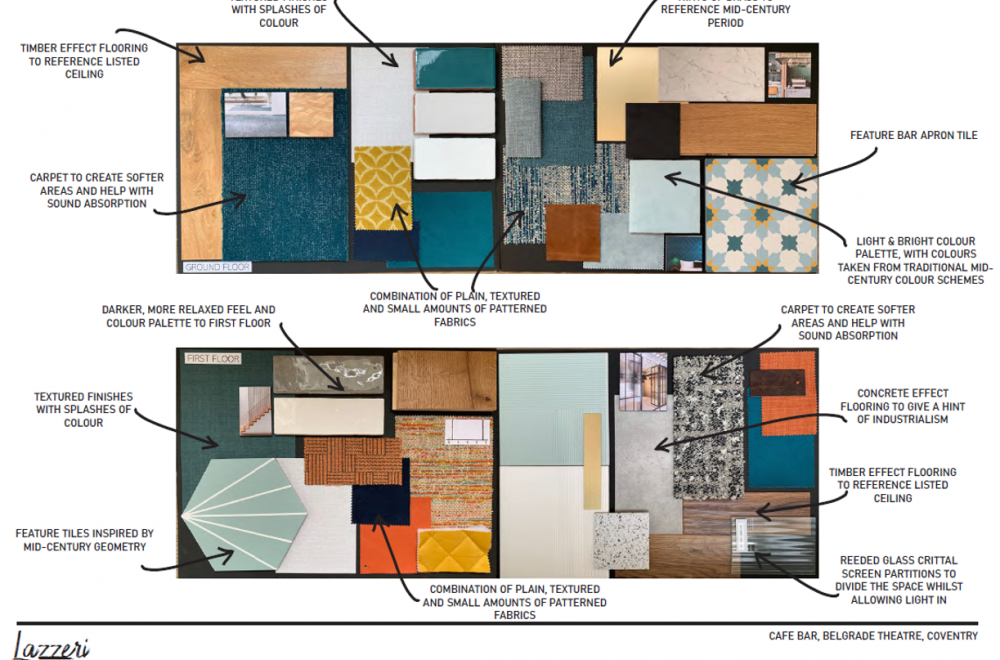 A few ideas which have inspired the redevelopment of our cafe, thanks to Lazzeri Creative Interiors