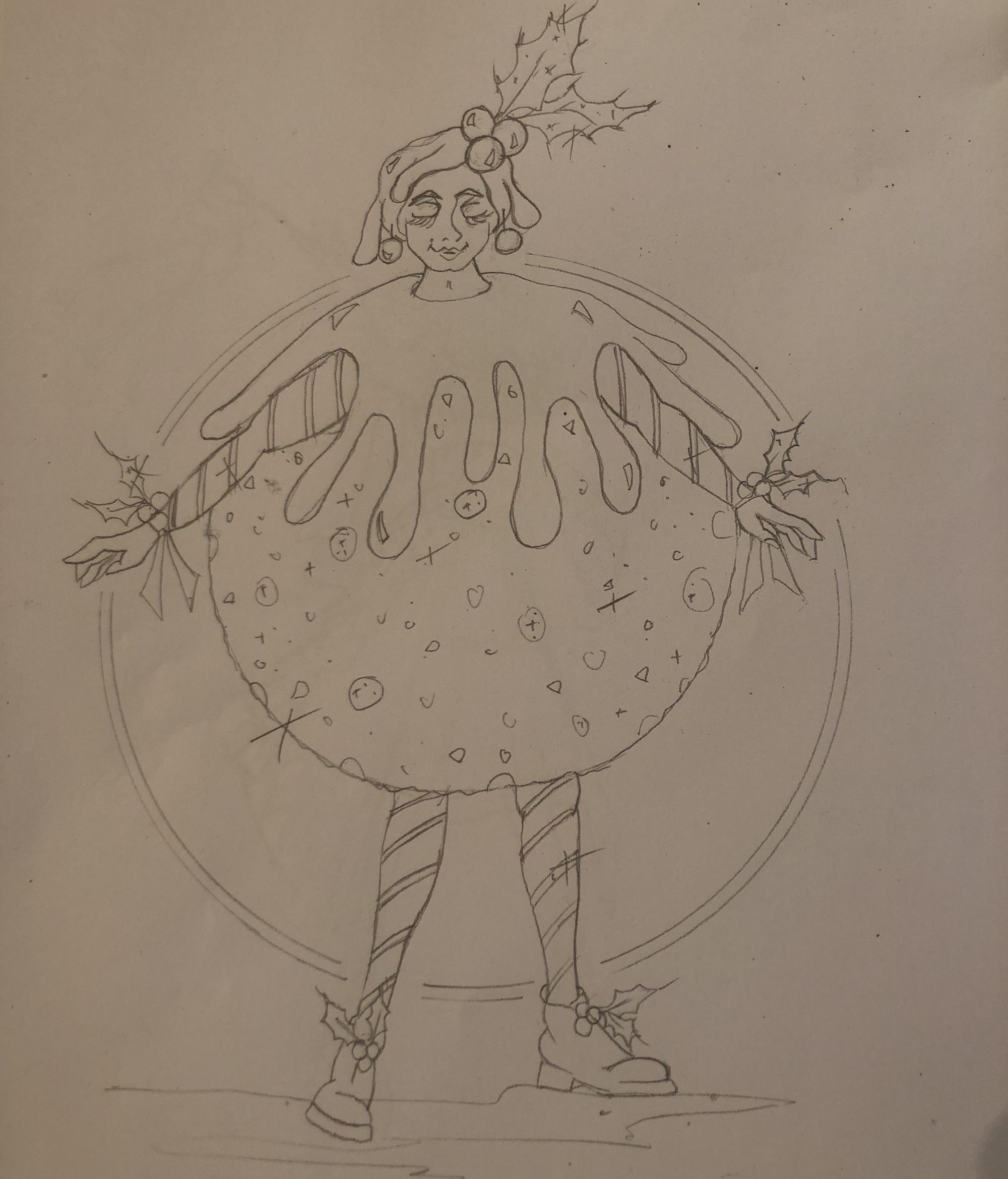 Matilda Pudding costume design (Puss in Boots, 2019/20)