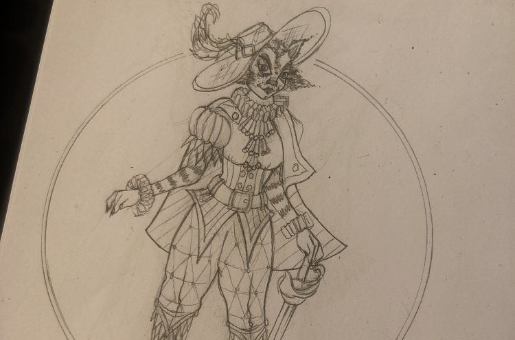Puss in Boots - panto costume design by Mark Walters