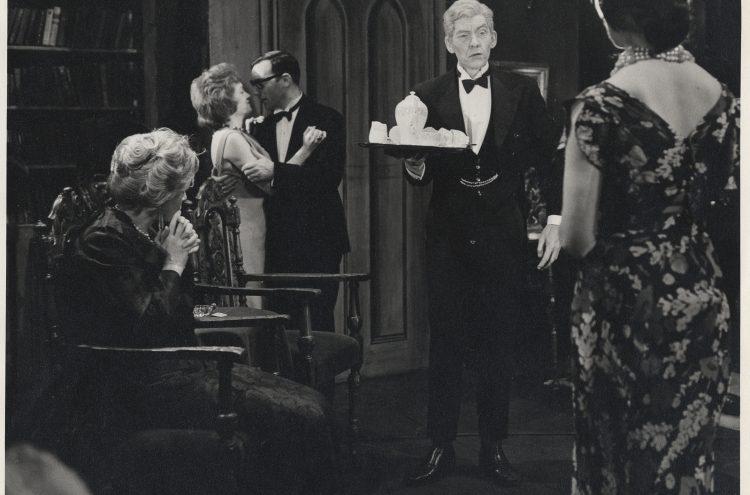 Ian McKellen in Black Coffee, 1961
