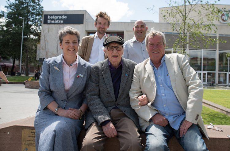 Joanna Reid, Richard Sadler, Hamish Glen and the Photo Archive Miners, 2017 - credit Nicola Young