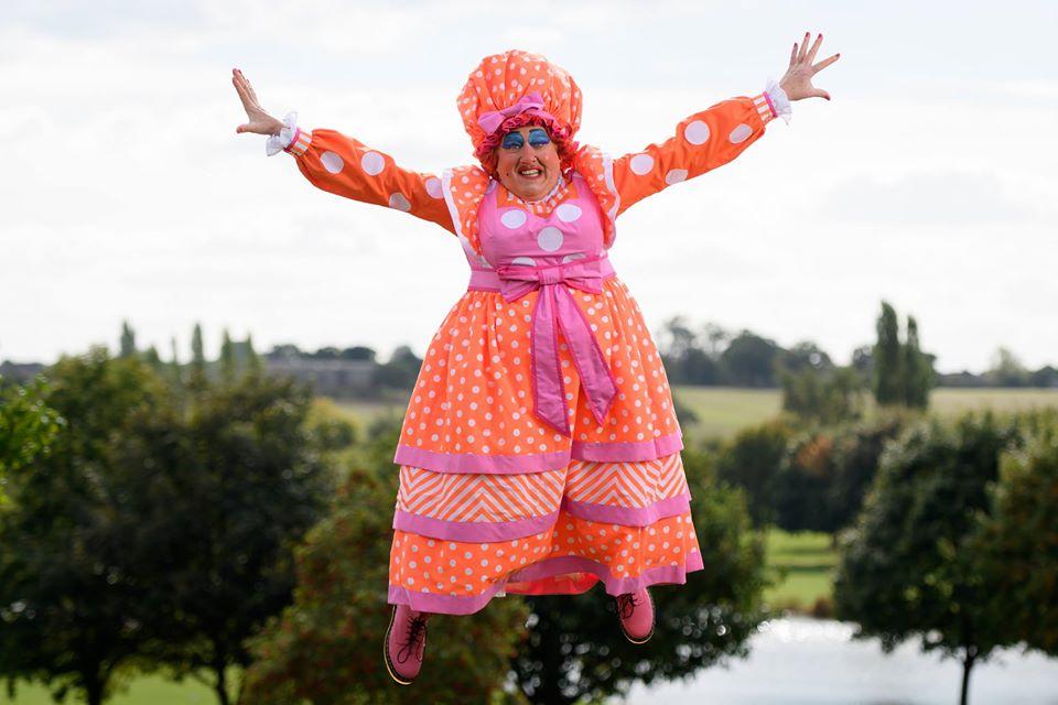 Iain Lauchlan as Dame Nanny McWheeze (Sleeping Beauty, 2018/19)