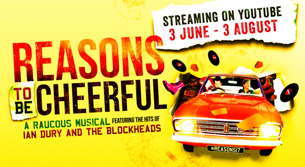 Reasons to be Cheerful will be available to live stream from 3 June