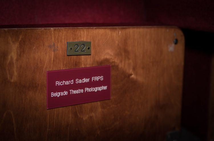 Richard Sadler's seat, 2017 - credit Nicola Young