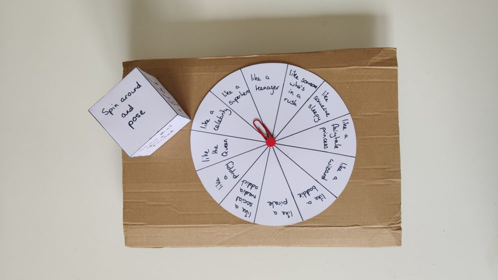 Monday Makes: Make your own improv game