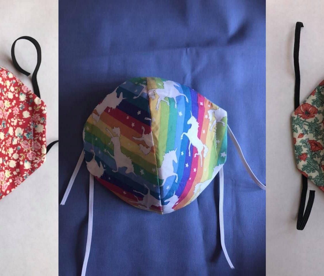 Sew Grateful – Homemade masks help support the Belgrade