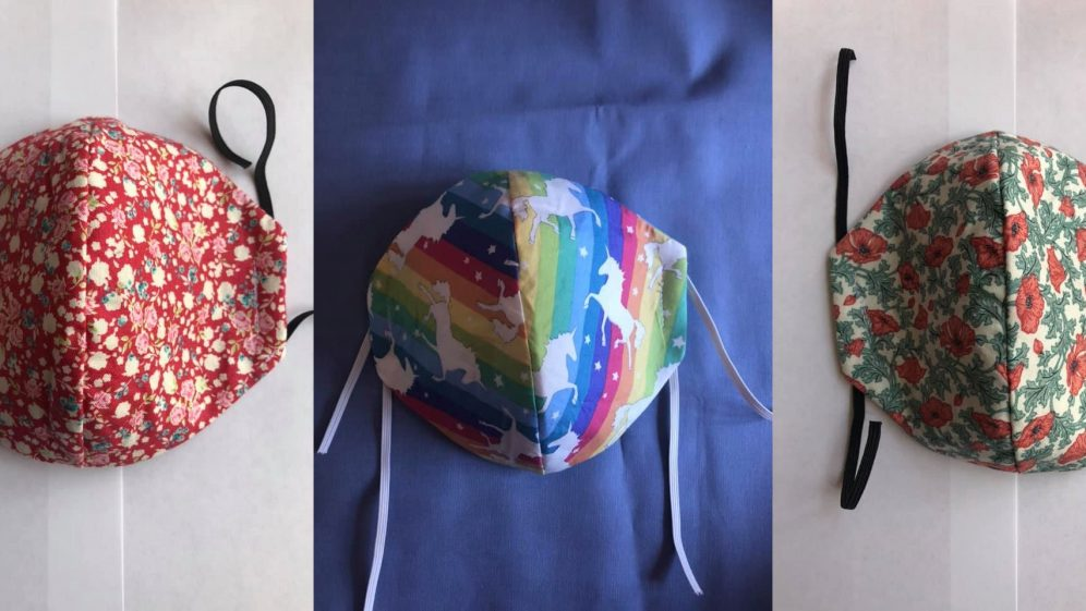 Sew Grateful – Homemade masks help support the Belgrade