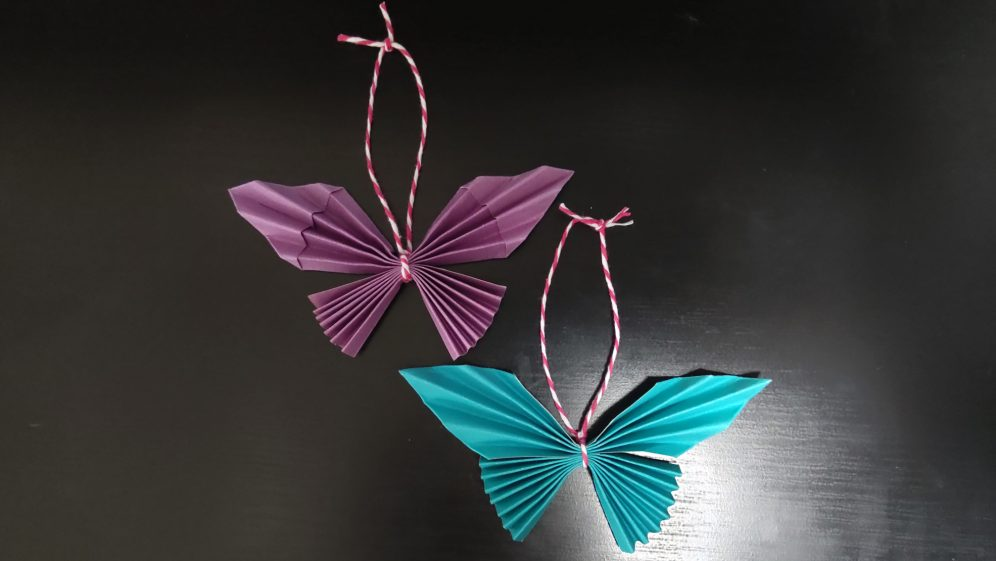 Monday Makes: Make your own paper butterflies