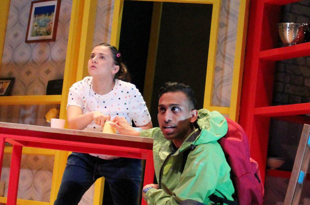 Natalie Davies as Jabala and Jay Varsani as Munir