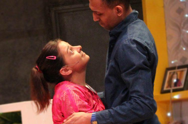Natalie Davies as Jabala and Jay Varsani as Dad