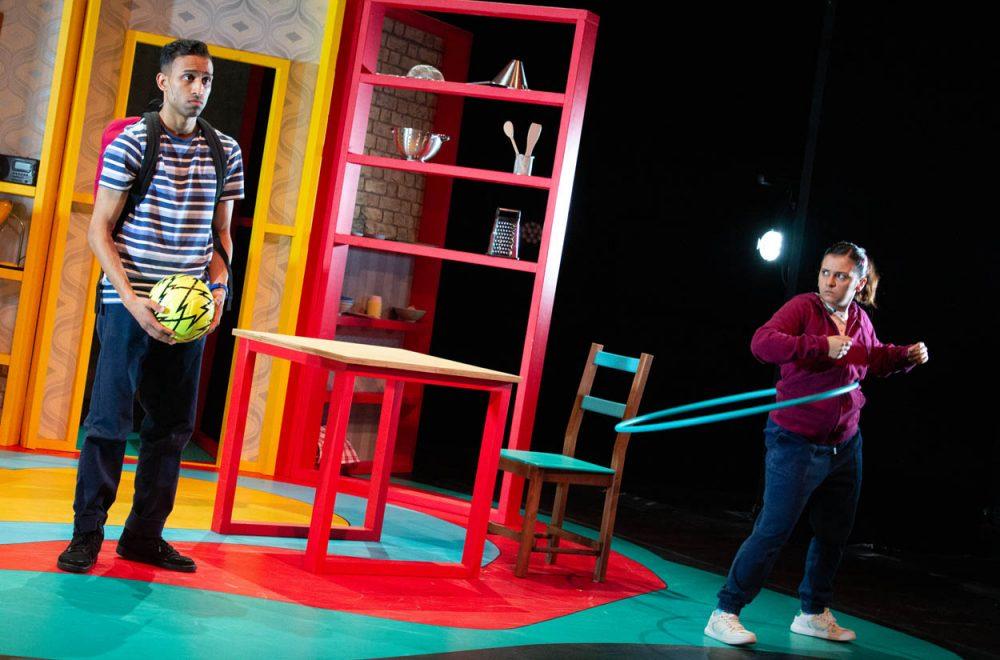Jay Varsani as Munir and Natalie Davies as Jabala