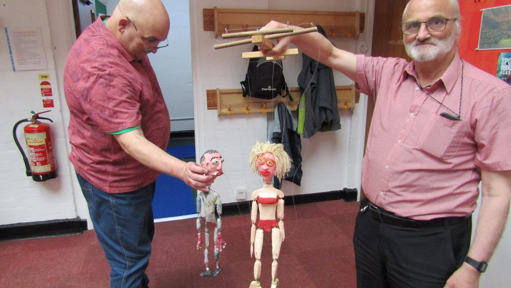 Crafty Blokes at Coventry Men's Shed: Exploring Mental Health Through Puppetry