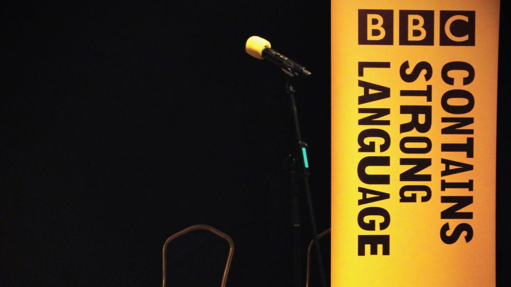 BBC Contains Strong Language Festival