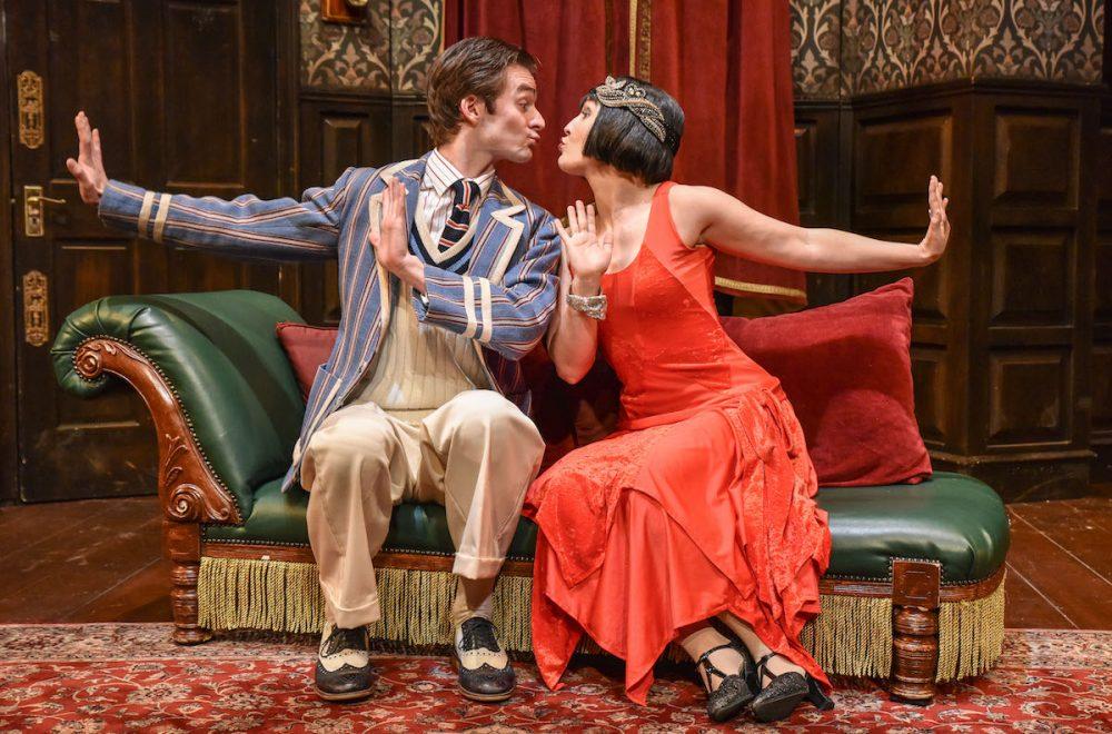 Tom Babbage (Max) & April Hughes (Sandra). Photo credit Robert Day.