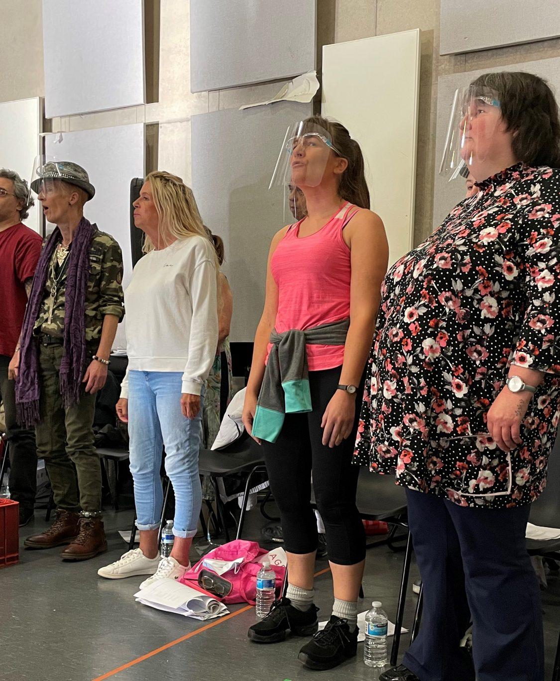 Q&A with community choir leader Wes Finch